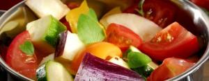 Frisches, regionales Gemüse